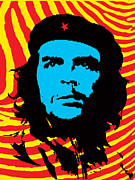 Che Guevara Prints - Colors of Che No.2 Print by Bobbi Freelance