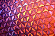 Geodesic Prints - Colors of Epcot Print by David Lee Thompson