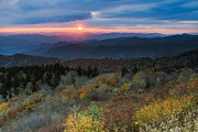 Cowee Mountain Overlook Prints - Colors of love. Print by Itai Minovitz