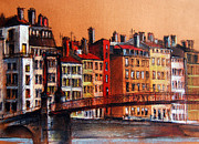 Colors Of Lyon I Print by Emona Art