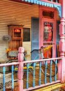 Metamora Metal Prints - Colors Of Metamora 1 Metal Print by Mel Steinhauer