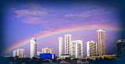 Citiscapes Photos - COLORS of SOUTH BEACH by Karen Wiles