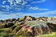South Dakota Tourism Photos - Colors Of The Badlands 2 by Mel Steinhauer