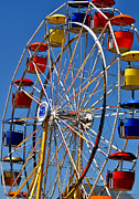 Baskets Framed Prints - Colors of the Fair 1 Framed Print by Kae Cheatham