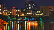 Charles River Metal Prints - Colors on the Charles Metal Print by Joann Vitali
