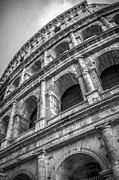 Alex Saunders - Colosseum Rome Italy BW