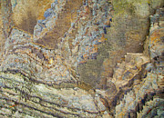 Crag Photo Originals - Colour Jagged Rock by Graham Foulkes