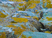 Steen Prints - Colourful rocks Print by Inez Wijker Photography