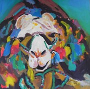 Colourfull Art - Colourfull Camel by Jolanta Shiloni