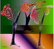 Iris Gelbart - Colourville  trees