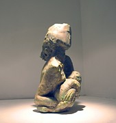 Figurative Sculpture Prints - Colrine 1 Print by Flow Fitzgerald