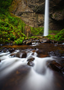 Lush Green Framed Prints - Columbia Gorge Richness Framed Print by Darren  White