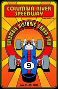 Rally Prints - Columbia Historic Grand Prix Print by Nomad Art And  Design