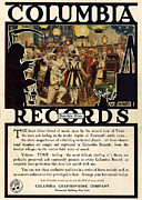 Featured Art - Columbia Records 1920s Usa Cc by The Advertising Archives
