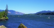 Northwest Landscape Mixed Media - Columbia River Gorge by Photography Moments - Sandi