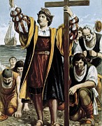 1506 Posters - Columbus, Christopher 1451-1506. Sailor Poster by Everett