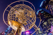 Val Black Russian Tourchin - Columbus Circle Globe at Night