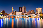 Columbus Ohio Framed Prints - Columbus Ohio Framed Print by Emmanuel Panagiotakis