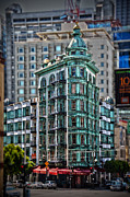 Flatiron Framed Prints - Columbus Tower in San Francisco Framed Print by RicardMN Photography
