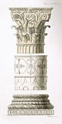 Column And Capital Print by .