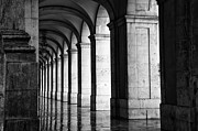 Repetition Prints - Column Reflection Print by Eggers   Photography