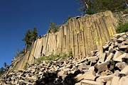 Devils Postpile Photos - Columnar Basalt by Adam Jewell
