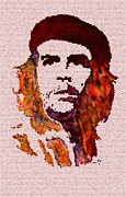 Che Digital Art - Comandante Che Guevara digital painting by Costinel Floricel