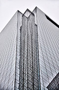 Corner Digital Art Framed Prints - Comcast Center Corner -  Philadelphia  Framed Print by Bill Cannon