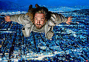 Lebowski Paintings - Come Fly With Me by Tom Roderick