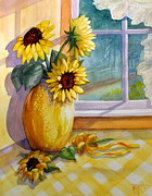 Outdoor Still Life Paintings - Come Home by Marilyn Smith