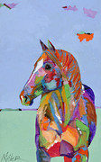 Horses In Art Posters - Come on Over Poster by Tracy Miller