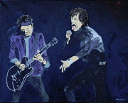 Mick Jagger And Keith Richards Art - Come on up by Stuart Engel