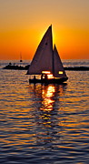 Lapping Prints - Come Sail Away with Me Print by Robert Harmon