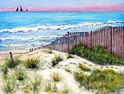 Sand Dunes Paintings - Come With Me---Down to the ....  by Ruth Bodycott