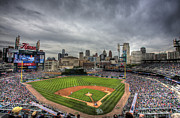 Detroit Tigers Posters - Comerica Park Home of the Tigers Poster by Shawn Everhart