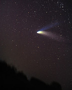 Hale-bopp Prints - Comet Hale-Bopp on 4-5-97 Print by Alan Vance Ley