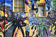 Fun New Art Posters - Comic Book Characters Albuquerque New Mexico Poster by Bob Christopher