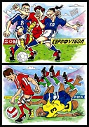 Goal Drawings - Comics. Fourth page. by Vitaliy Shcherbak