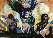 Warrior Goddess Paintings - Coming of Age Ritual by Stacey Austin