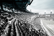 Comiskey Posters - Comiskey Park Stands Poster by Anthony Doudt