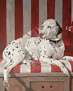 Commision Art - Comma the Dalmatian by Anke Classen