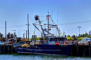 Trawler Metal Prints - Commercial Fishing - Sea Pearl Metal Print by Heidi Smith