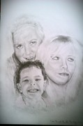 Featured Drawings - Commission Portrait by Brian Horsley