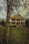 Historic Site Prints - Commissioners Residence Print by Priska Wettstein
