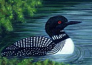Sandra Estes - Common Loon