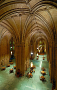 Campus Framed Prints - Commons Room Cathedral of Learning - University of Pittsburgh Framed Print by Amy Cicconi