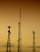 Technical Photos - Communications masts 03 by Antony McAulay