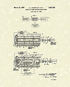1960 Drawings Posters - Communications System 1960 Patent Art Poster by Prior Art Design