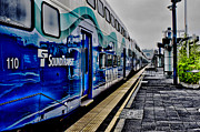 Seattle Framed Prints Framed Prints - Commuter Train Framed Print by Ron Roberts