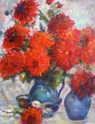 Quin Sweetman Paintings - Complementary - Original Impressionist Painting - Still-life - Vibrant - Contemporary by Quin Sweetman